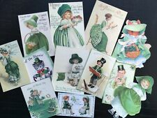 BB72:Vintage images of St. Patrick's Day, Saint Patrick -Die Cuts Scrapbooking