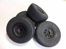 HPI Blitz Flux 1/10 SC 4 Räder / Set aus Reifen #H61742 + Felge #H106188, NEU