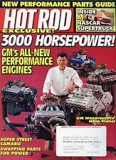 Hot Rod Magazine March 1996 3000 Horsepower / Gm Performance Engine