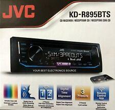 NEW JVC KD-R895BTS AM/FM/CD 1-DIN Car Stereo Receiver, Bluetooth, SiriusXM Ready