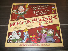 MUNCHKIN SHAKESPEARE Limited Deluxe Edition KickStarter Exclusive KS