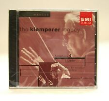 Klemperer Legacy: Mahler Symphony 4, 5 Lieder CD *New Sealed* EMI 70325-0