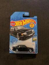 Hot Wheels Mercedes-Benz 500E Schwarz/Black Longcard 1:64, Neu,OVP