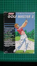 SYSTEMA computerizzato GOLF MASTER 2 handheld computer GAME-Ottime condizioni!