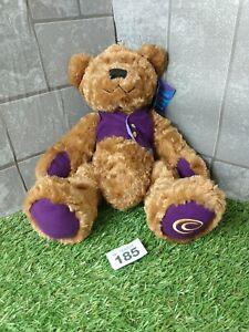 Official Cadburys Teddy bear, soft toy, Purple Waistcoat with tags