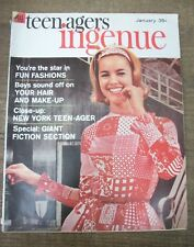 Teen Agers Ingenue - January 1963 - Beauty Magazine for Sophisticated Teens