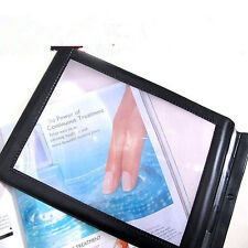3x Magnifier Sheet BIG A4 Full Page LARGE Magnifying Glass Book Reading Aid Lens