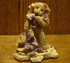 "Ganz Cottage Resin Figurine by Mary Holstad, #CC2068 SWEET SPRING, 4"" Rabbit"