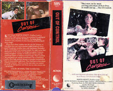 OUT OF CONTROL (1985) Betsy Russell / Claudia Udy Used VHS NTSC Super Rare