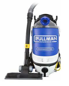 Pullman Advance Commander 900 Backpack Vacuum PV900 2 years warranty HEPA FILTER