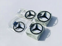 Mercedes-Benz GENUINE Gloss Black Rear Star Badge's (ANY 5 DOOR MODEL)