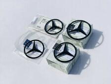 Mercedes-Benz GENUINE Gloss Black Rear Star Badge's (ANY 5 DOOR MODEL)
