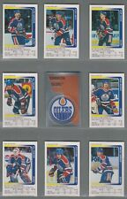 1991-92 Panini Stickers Edmonton Oilers Complete Team Set (15)