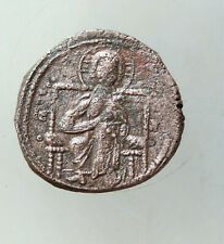 Anonymous time to Constantine Ix c.1042-1055. Ae29mm 8g. Follis Christ Seated