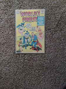 World's Finest #113 DC 1960 Superman,Batman,Bat-Mite and Mr. MXYZPTLK