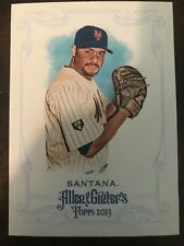 Johan Santana 2013 Topps Allen & Ginter's SP Short Print New York Mets #325