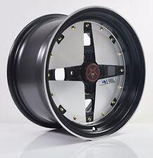 4PCS JUN HOSHINO 15 inch Mag Wheels Rim 4X100 Alloy wheel Car Rims SY5026 FB-1