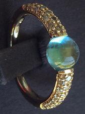 Pomellato 18k Rose Gold M'ama Non M'ama Topaz Ring, Size 6, Ref. A.B213TBRO7OY