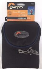 Lowepro MX 10 Black Case Camera Pouch Bag Removable Strap Water Resistant