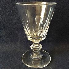 Saint-Louis et Baccarat H ± 10,2 cm verre en cristal taillé  XIX ème Circa 1840