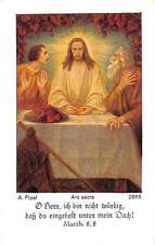 "Fleißbildchen Heiligenbild Andachtsbild Holy card ars sacra""H1994"" MESSOPFER"