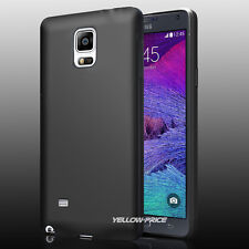 Black Ultra Thin Matte Back Protective Case Cover Film For Samsung Galaxy Note 4