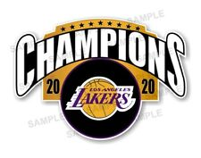 Los Angeles Lakers Champions 2020 Precision Cut Decal