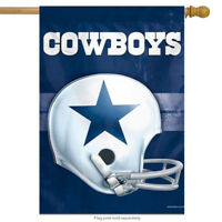 "Dallas Cowboys NFL Vertical House Flag Licensed Football Banner 28"" x 40"""