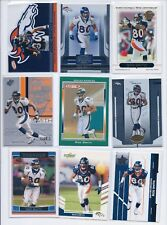 Rod Smith 9 different card lot Topps Atomic Certified SPX Gridiron Gear Score