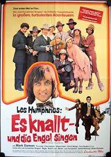 Es knallt und die Engel singen Filmposter A1 Les Humphries Singers, Jürgen Drews
