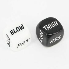 Sexual Dice Party Adult FunToy Couple Seductions Intimate Sexplay choice of fate