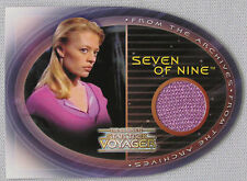 COMPLETE STAR TREK VOYAGER JERI RYAN AS SEVEN OF NINE COSTUME TRADING CARD CC1