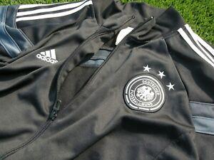 Adidas Deutscher Fussball Bund Germany Soccer Football Black Jogging Track 2XL