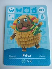 Frita #339 Animal Crossing Amiibo Card Series 4 Nintendo Switch 3DS Wii U New