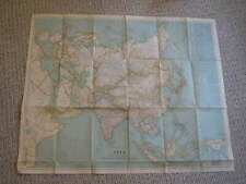ANTIQUE ASIA AND ADJACENT REGIONS MAP December 1933 National Geographic