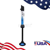 Dental Composite Light Cure Resin Shade A1 4g/syringe Universal DX