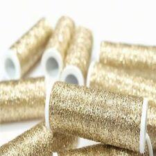 Black Metallic Embroidery Thread Spool L 60m X W 0.4mm Hand Sew Needlework 1