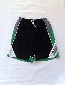 BNWT Nike Swim Trunks / Shorts Sz M Black, Gray, Green, White