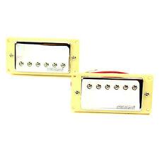 Wilkinson Chitarra Elettrica Pick-up Cromo Humbucker Set per Gibson Epiphone