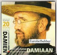 België     20 EURO ZILVER PROOF PATER DAMIAAN  IN STOCK