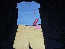 NWT Gymboree Girl POP OF DAISIES Shorts Shirt Top Lot 4