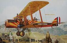1/48 Airplane WWI Airco (de Havilland) DH4 w/Puma Roden 430 Model kit