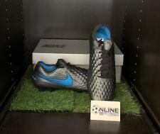Nike Tiempo Legend VIII Elite FG - Black/Blue Hero UK 10, US 11, EU 45