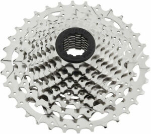 microSHIFT H09 Cassette - 9 Speed 11-34t Silver Nickel Plated