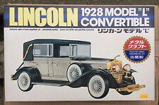 WAGNER LINCOLN 1928 MODELO L CONVERTIBLE,PERFECTO RARO NEW