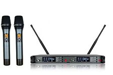 UHF Wireless Microphone System Karaoke Microphone Vocal mic Dynamic Handheld