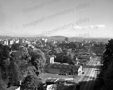 8x10 Print Historic Portland Oregon City Aerial View 1945 #1010063
