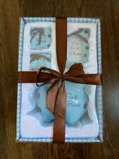 My first keepsake gift set for babies-Piggy Bank, 1st Curl/Tooth & Photo Frame