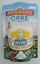 Birch Benders KETO Yellow Cake Mix 10.9 oz 5g carbs No sugar, No Gluten or Grain