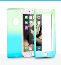 360°Full Shockproof Case+Tempered Glass Screen Cover for iPhone 6 6s 7 8Plus